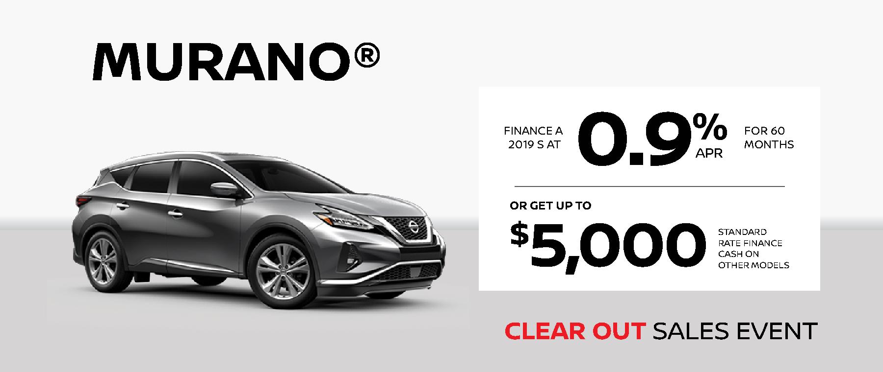 Nissan Murano Deal