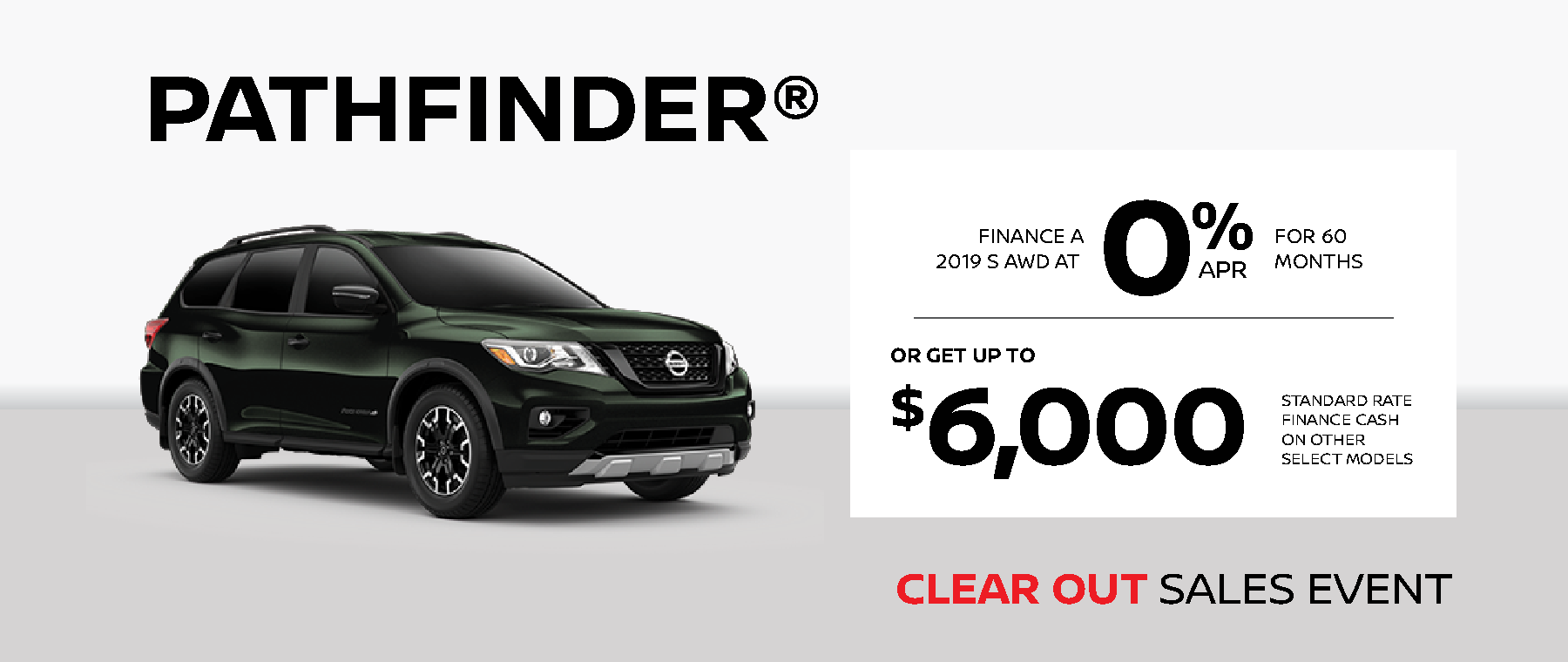 Nissan Pathfinder Deal