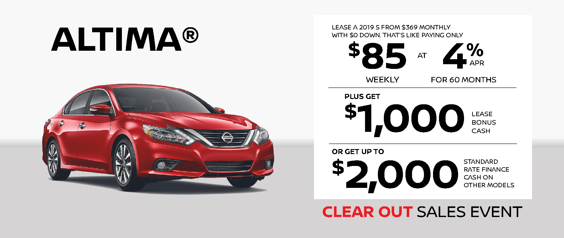 Nissan Altima Deal