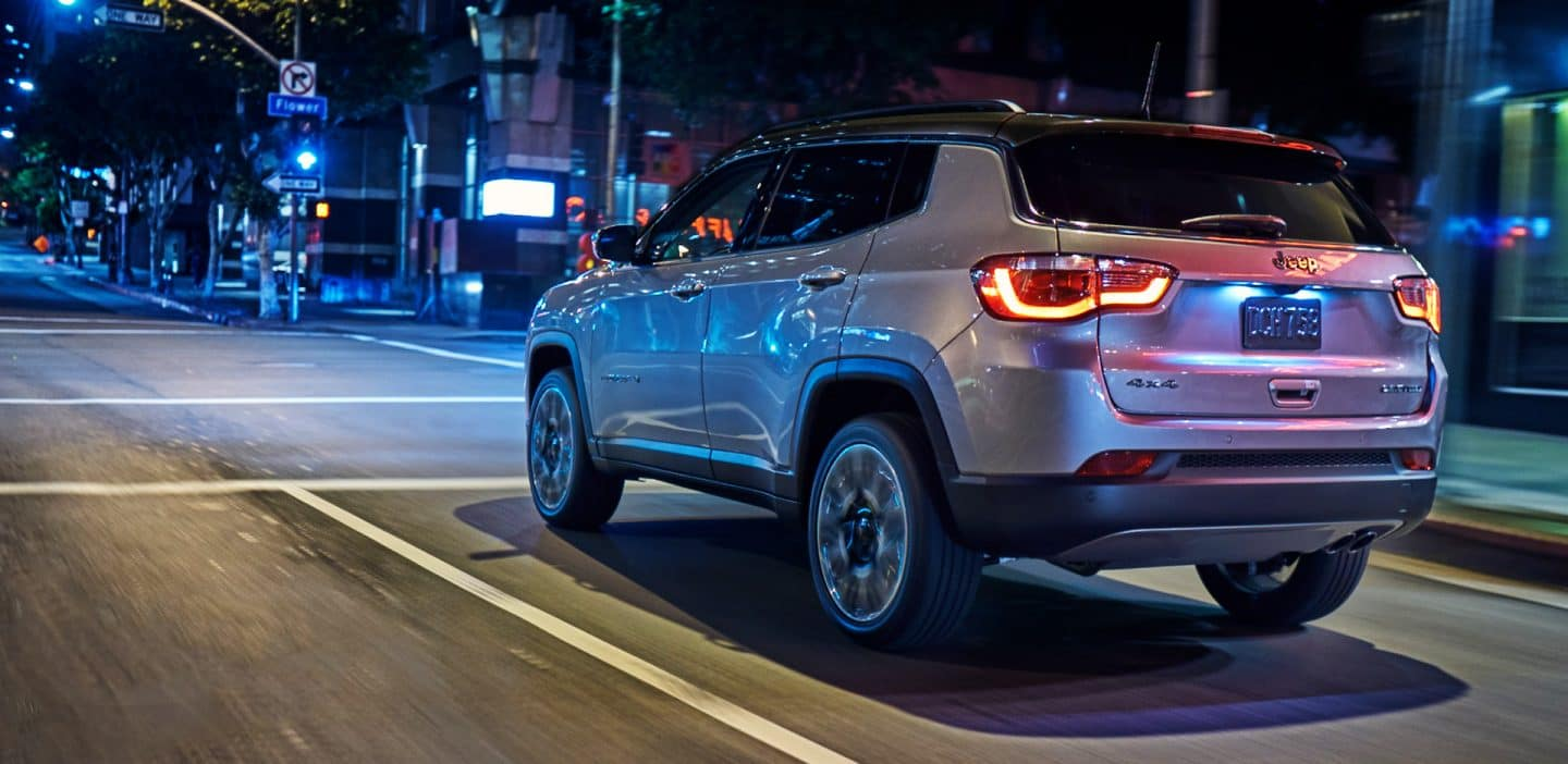 2018 Jeep Compass on road