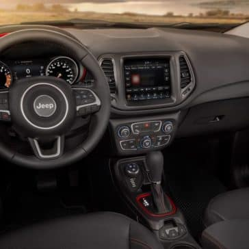 2018 Jeep Compass dashboards
