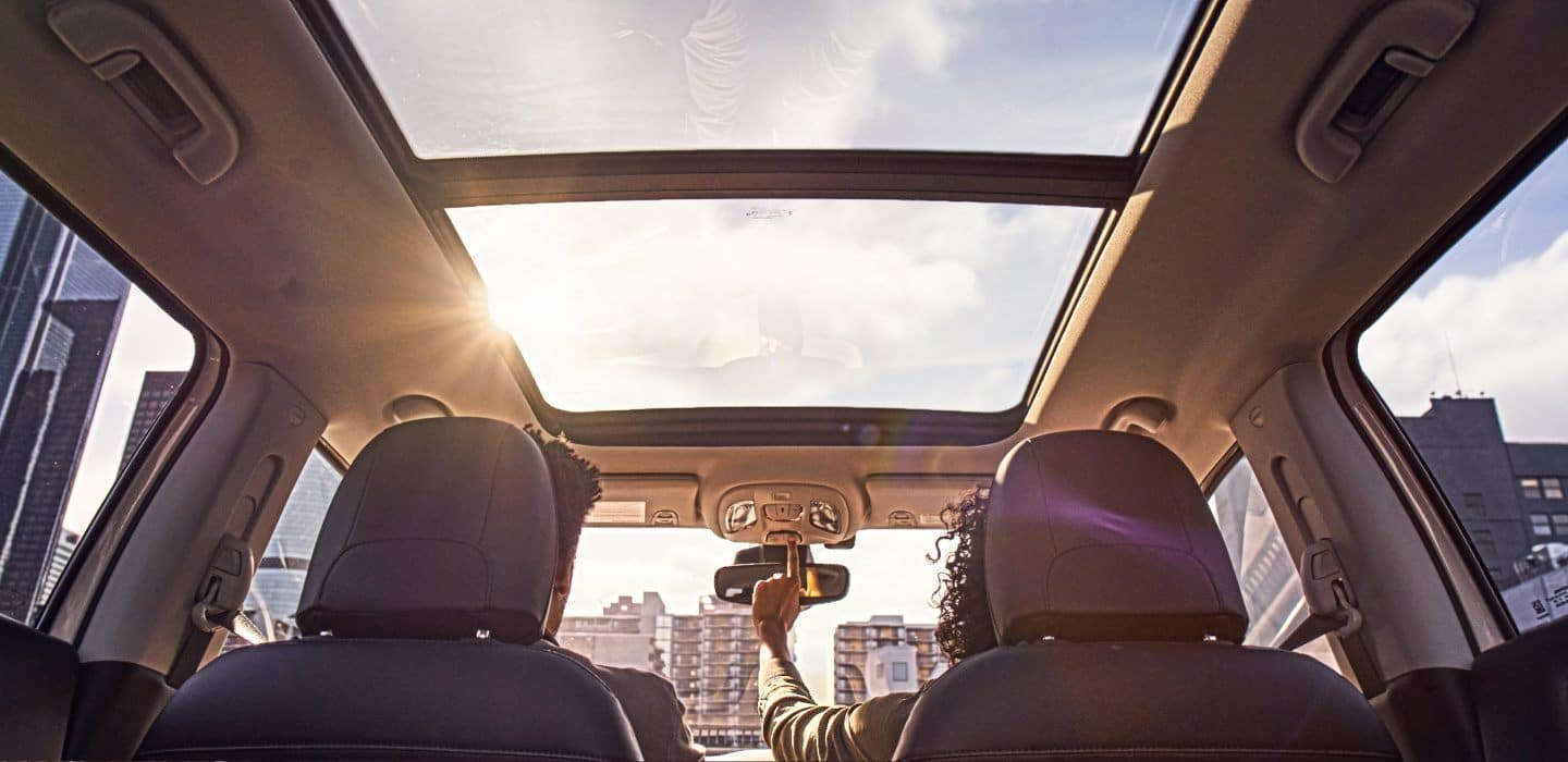 2018 Jeep Compass panoramic roof