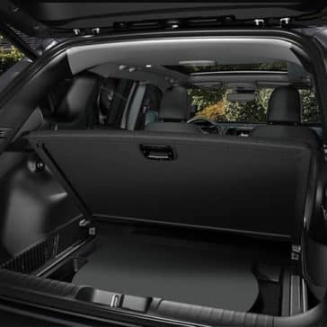 2019 Jeep Cherokee rear cargo hold