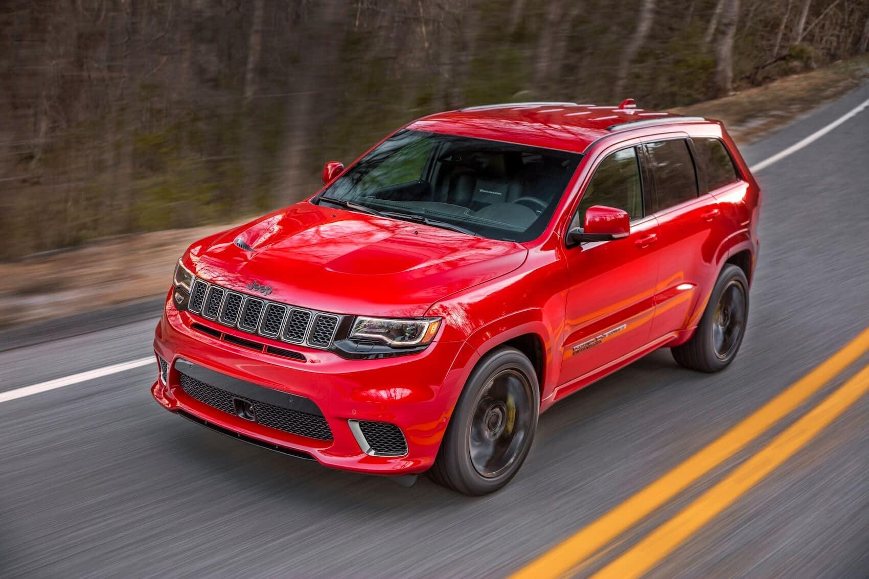 Jeep Grand Cherokee Trackhawk Red