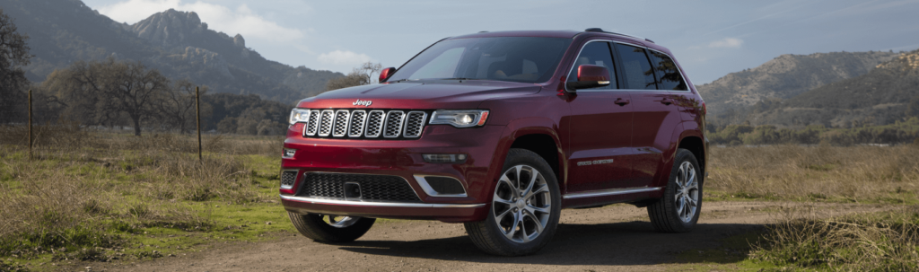 2021 Jeep Grand Cherokee Red Dirt Road