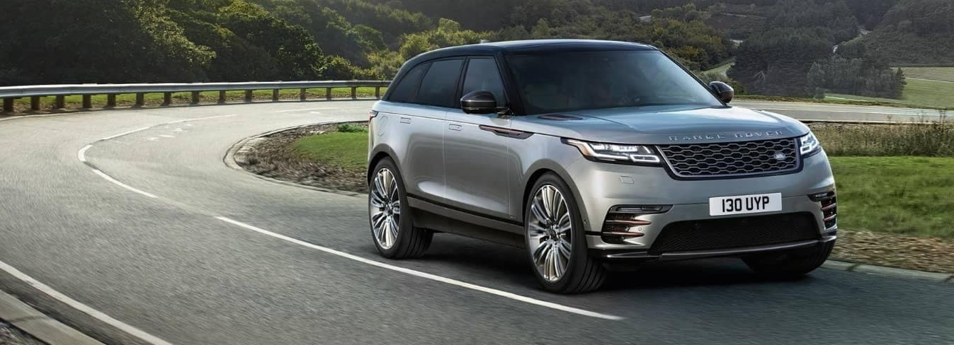 2019 Range Rover Velar on road