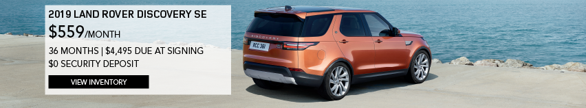 2019 LAND ROVER DISCOVERY SE $559/MONTH 36 MONTH_$4,495 DUE AT SIGNING_$0 SECURITY DEPOSIT_ VIEW INVENTORY_ORANGE LAND ROVER DISCOVERY SE SITTING BY THE BEACH