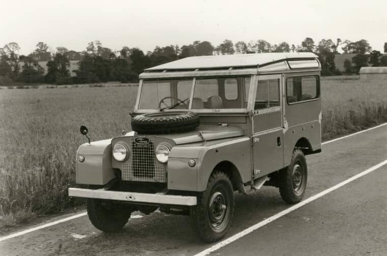 Land Rover Series I in 1954