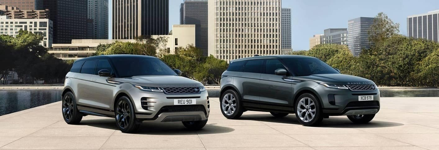 2020 Range Rover Evoque and Evoque R-Dynamic