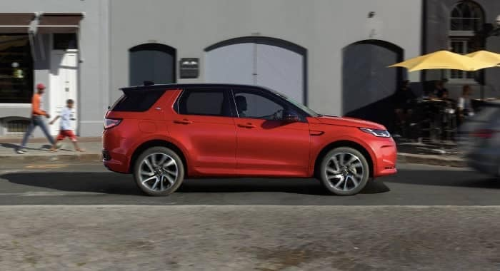 side profile 2020 Land Rover Discovery Sport