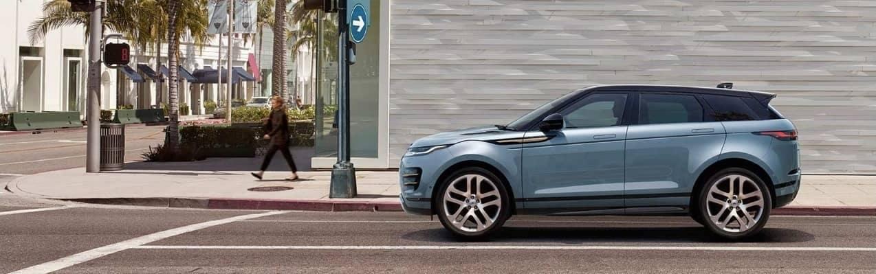 exterior of 2020 Range Rover Evoque