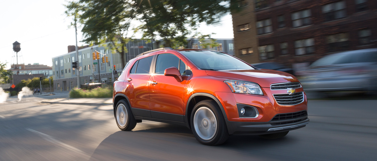 2016 Chevy Trax on road