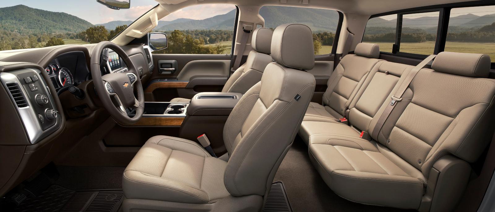 2016 Chevrolet Silverado 1500 Interior