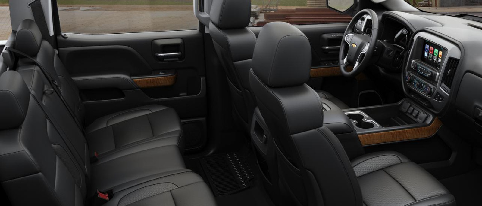 2016 Chevy Silverado 2500HD Interior