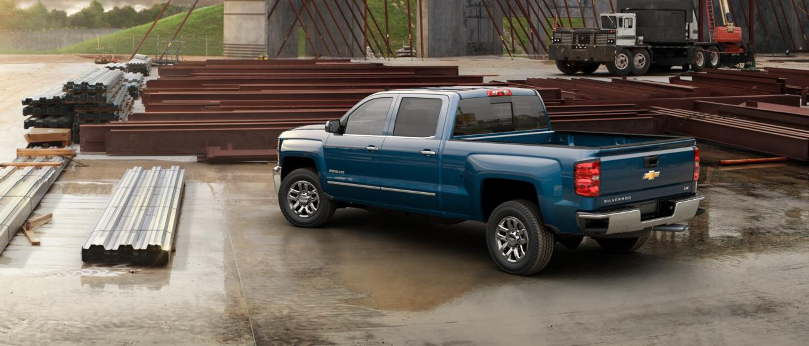 2016 Chevy Silverado 2500HD Rear