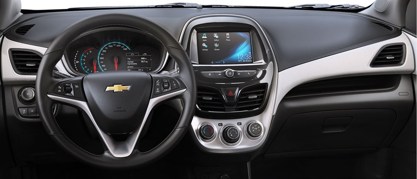 2016 Chevrolet Spark Interior