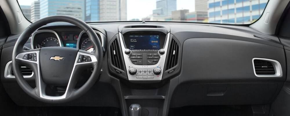 2017 Chevrolet Equinox interior features