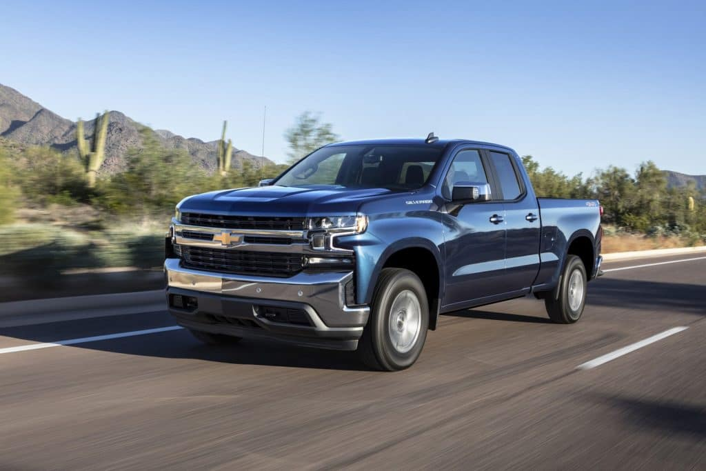 2019 Chevy Silverado 1500 Double Cab 4WD Custom