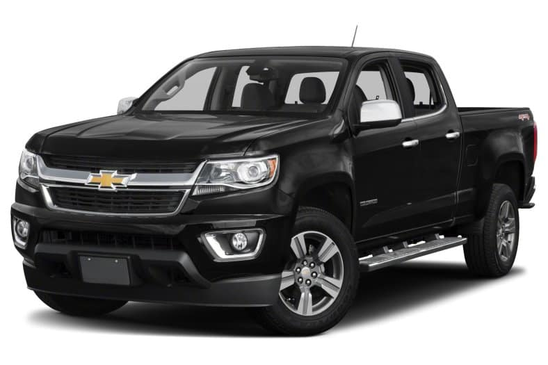 2018 Chevy Colorado Crew Cab 4WD