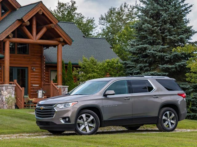 2018 Chevy Traverse LT AWD