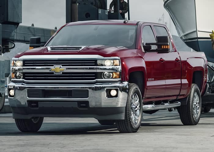 2018 Silverado 2500HD Double Cab