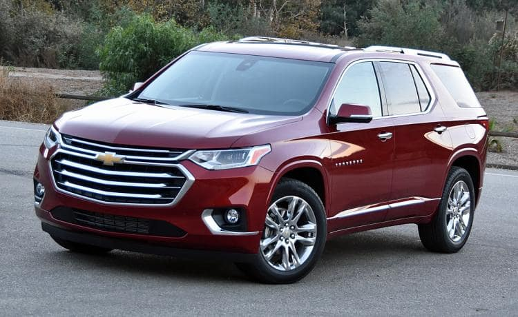 2018 Chevy Traverse AWD LT