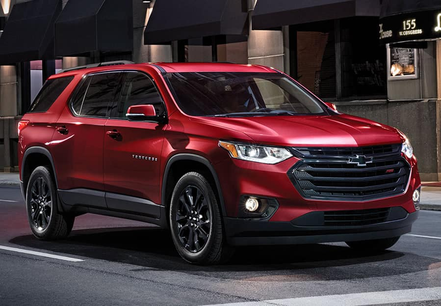 2019 Chevy Traverse AWD LS