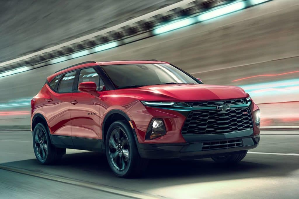 All New 2019 Chevy Blazer AWD