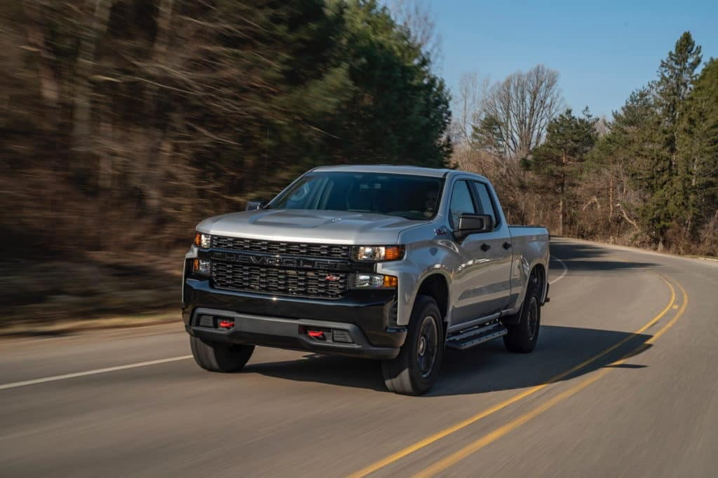 2019 Chevy Silverado 1500 Double Cab 4WD Custom Trail Boss
