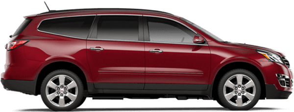 2017 Chevrolet Traverse side view