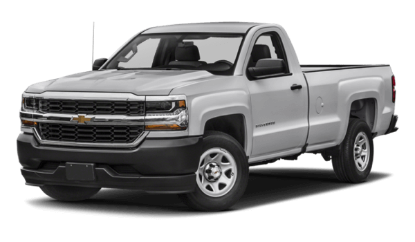 2017 Chevrolet Silverado 1500 light exterior model