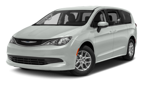 2017 Chrysler Pacifica white background