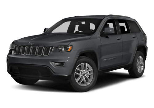 2017 Jeep Grand Cherokee white background