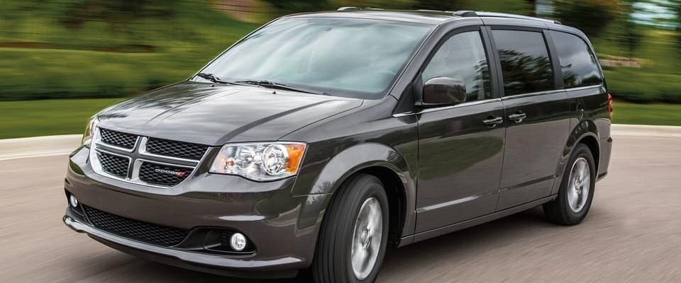 2019 Dodge Grand Caravan on the road