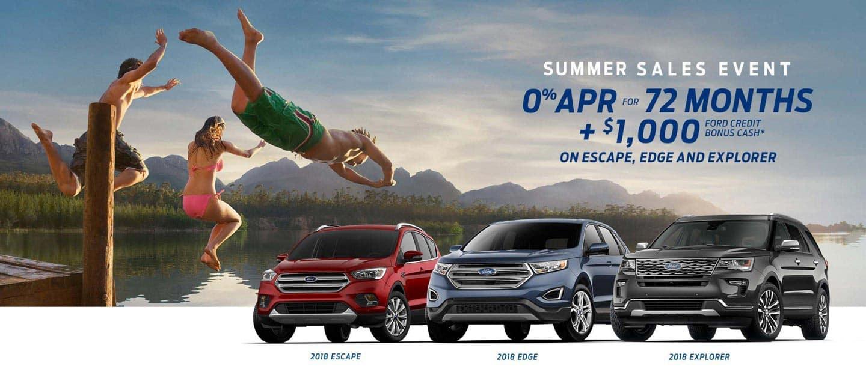 2018 Ford Summer Sales Event Desktop Billboard