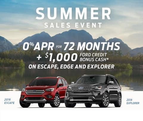 2018 Ford Summer Sales Event Mobile Billboard