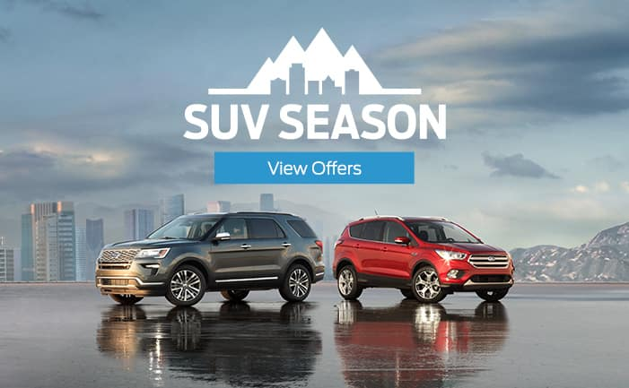 2018 SUV Season Menu Billboard