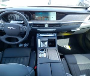 New G90 Interior
