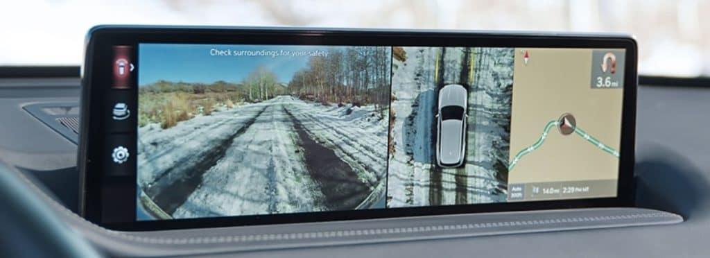 Genesis SUV GV80 Interior Augmented Reality Navigation