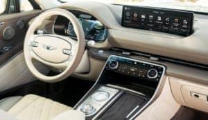 Genesis SUV GV80 Interior at Lehman Genesis