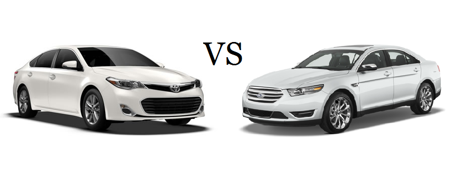 toyota avalon vs ford taurus. Black Bedroom Furniture Sets. Home Design Ideas