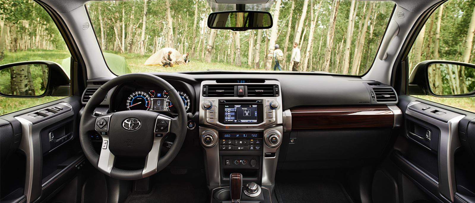 2015 Toyota 4Runner Interior Dash
