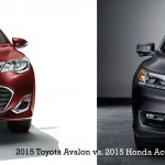 2015 Toyota Avalon vs 2015 Honda Accord