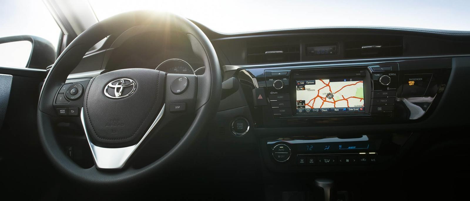 2015 Toyota Corolla Interior ...