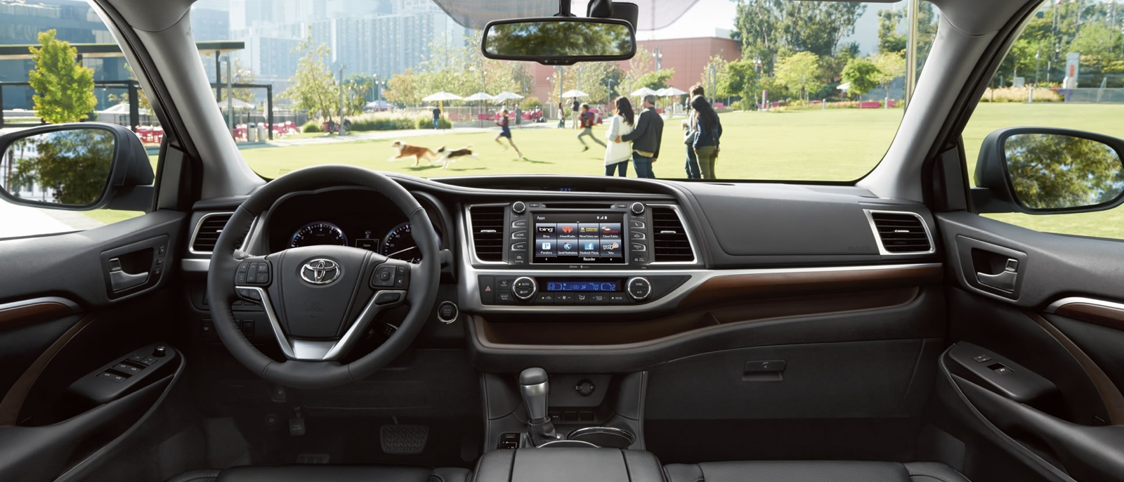 2015 Toyota Highlander Interior