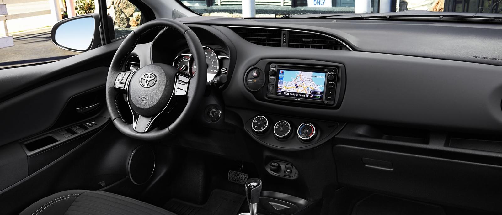 2015 Toyota Yaris Interior