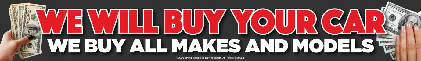 We will buy your car - we buy all makes and models
