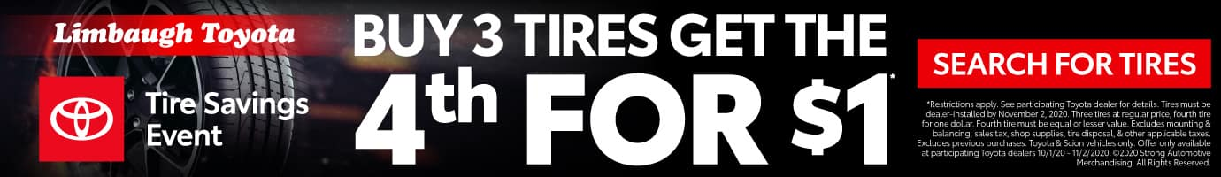 Buy 3 Tires get the 4th for $1 - Search for Tires