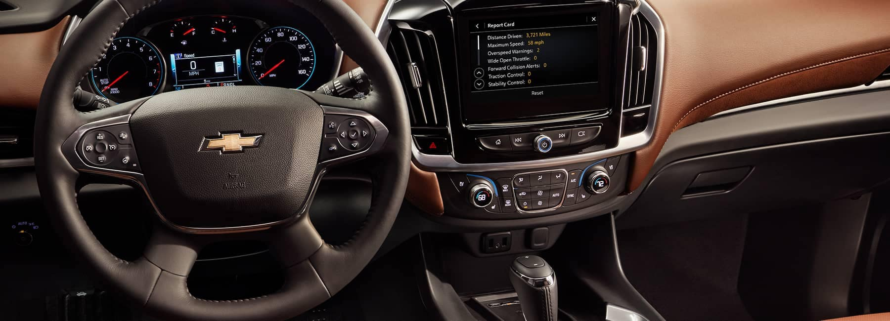 2020 Chevrolet Traverse Interior Dashboard