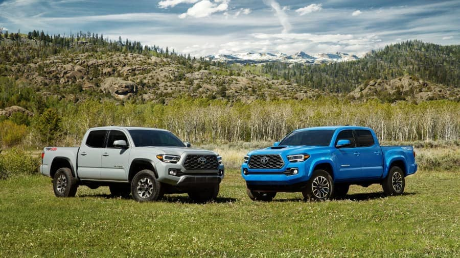 2020 Toyota Tacoma Vehicles